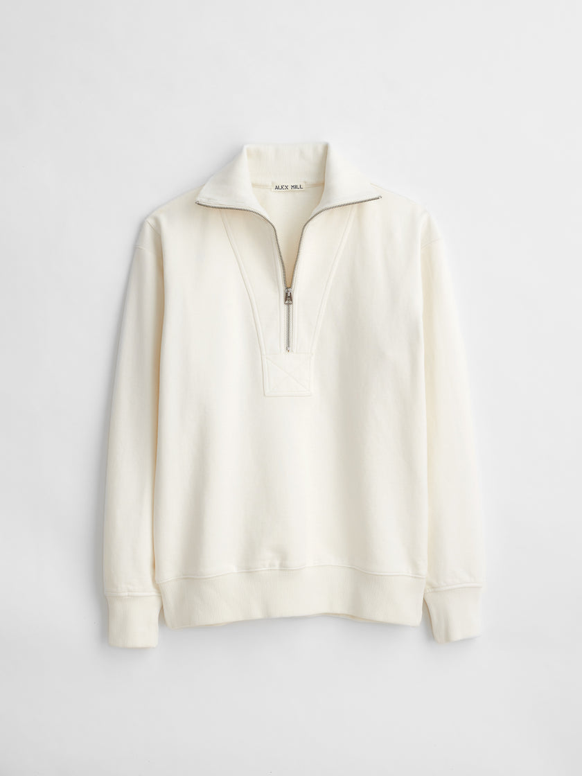 Fleece Half Zip Sweatshirt