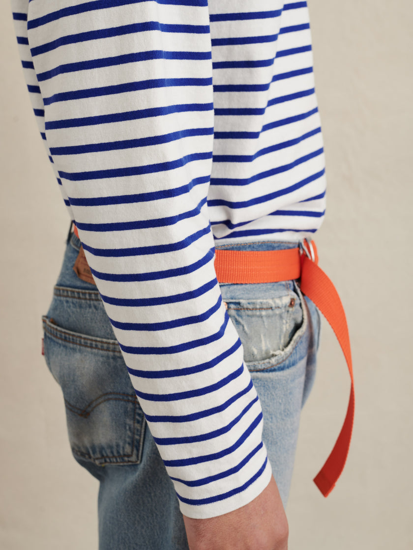 Touch Down Tee in Stripe