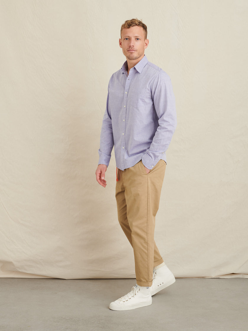 Mill Shirt in Japanese Cotton