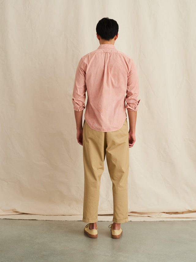Alex Mill Editions: Natural Dye Shirt in Botanical Blush