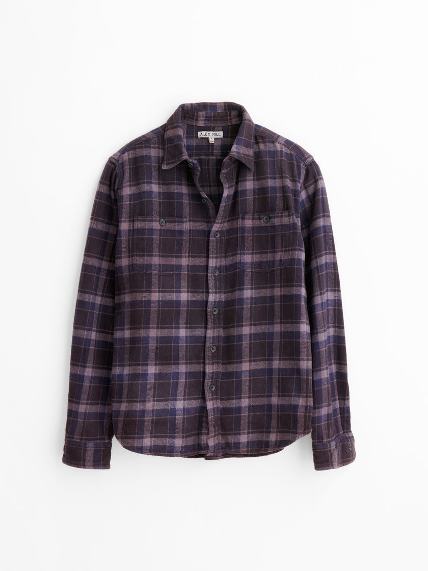 Alex Mill Limited Run: Natural Dye Shirt in Botanical Plaid