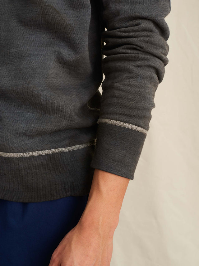 Alex Mill Editions: Natural Dye Sweatshirt in Botanical Gray