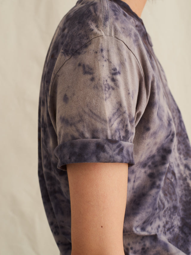 Alex Mill Editions: Natural Dye Tee in Speckled Botanical Lilac