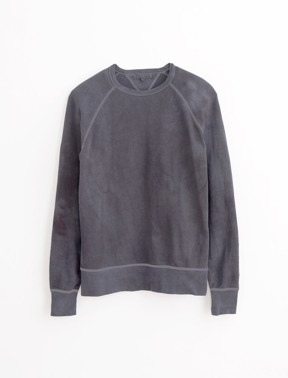 Alex Mill Editions: Natural Dye Sweatshirt in Botanical Faded Midnight