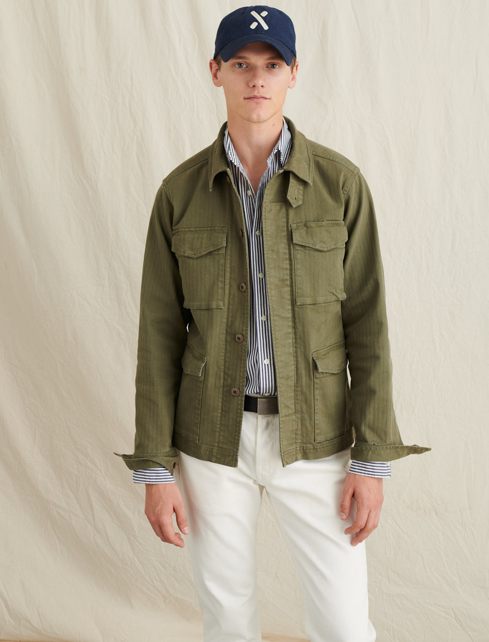Herringbone Army Jacket