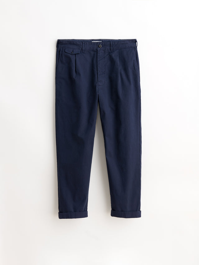 Standard Pleated Chino