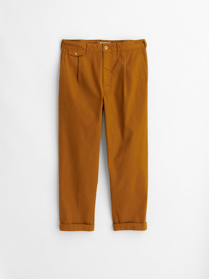 Standard Pleated Chino (Long Inseam)