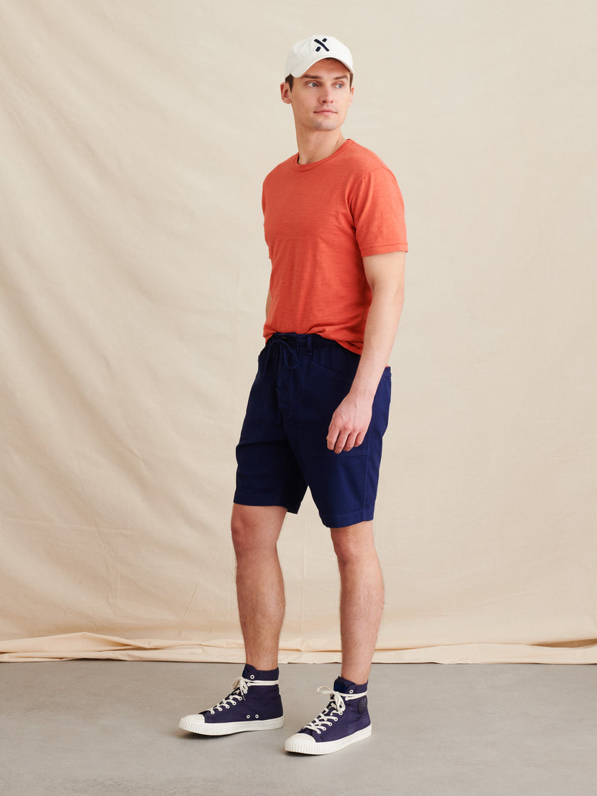 Pull On Button Fly Shorts