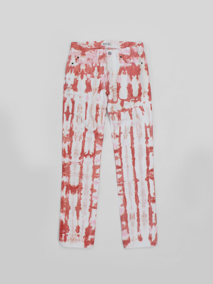 The Hand-Dyed Project: Tie Dyed White Jean