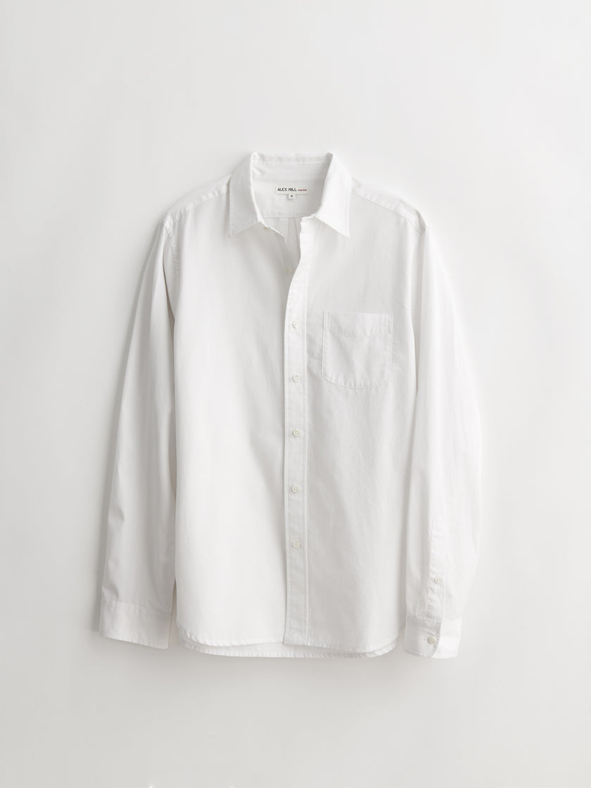 Standard Shirt in End On End Cotton