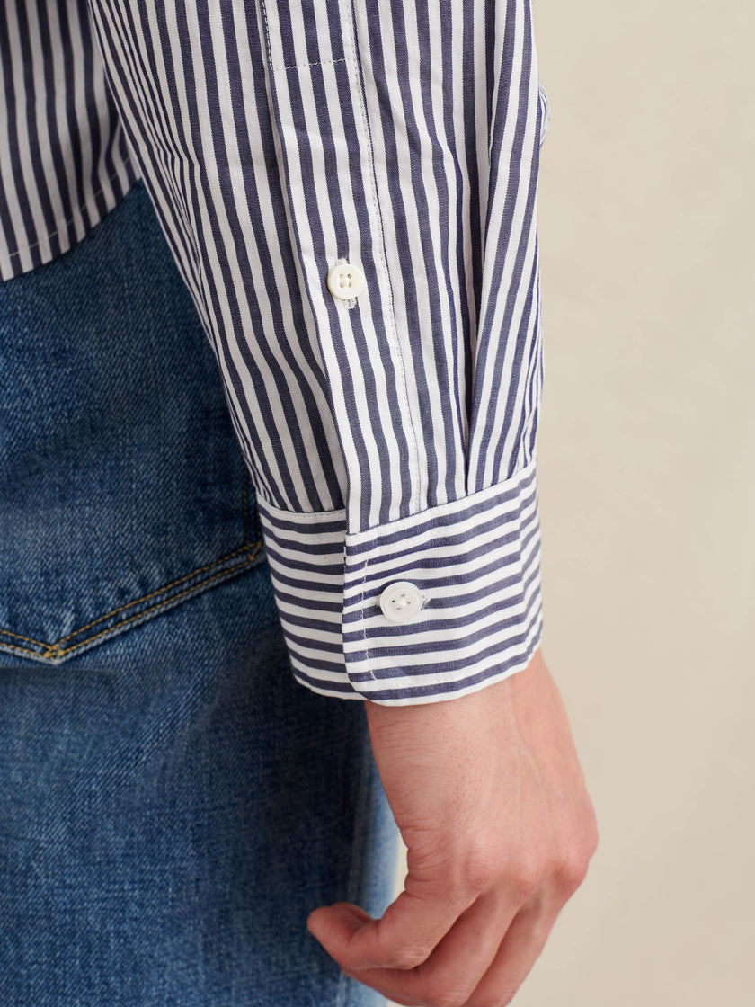 Field Shirt in Striped Cotton