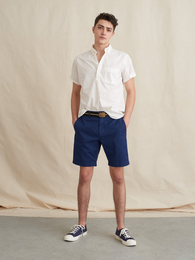 Short Sleeve Popover Shirt in