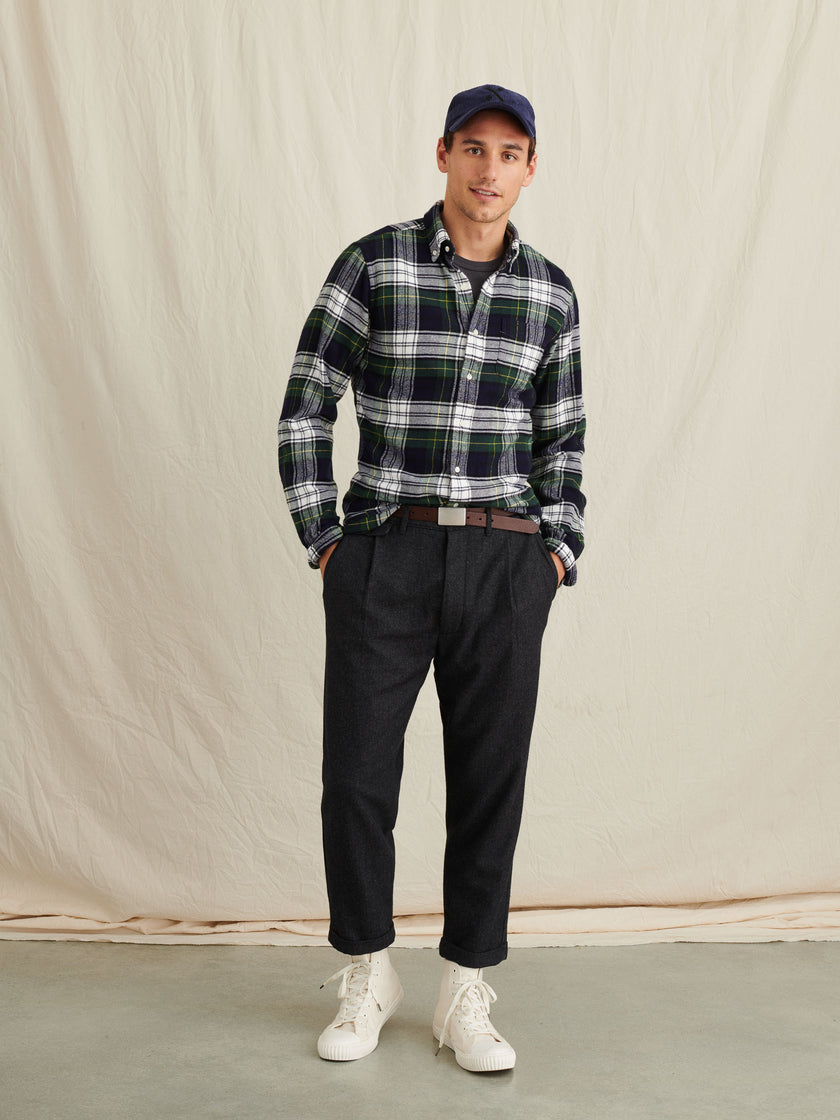 Button Down Flannel Shirt