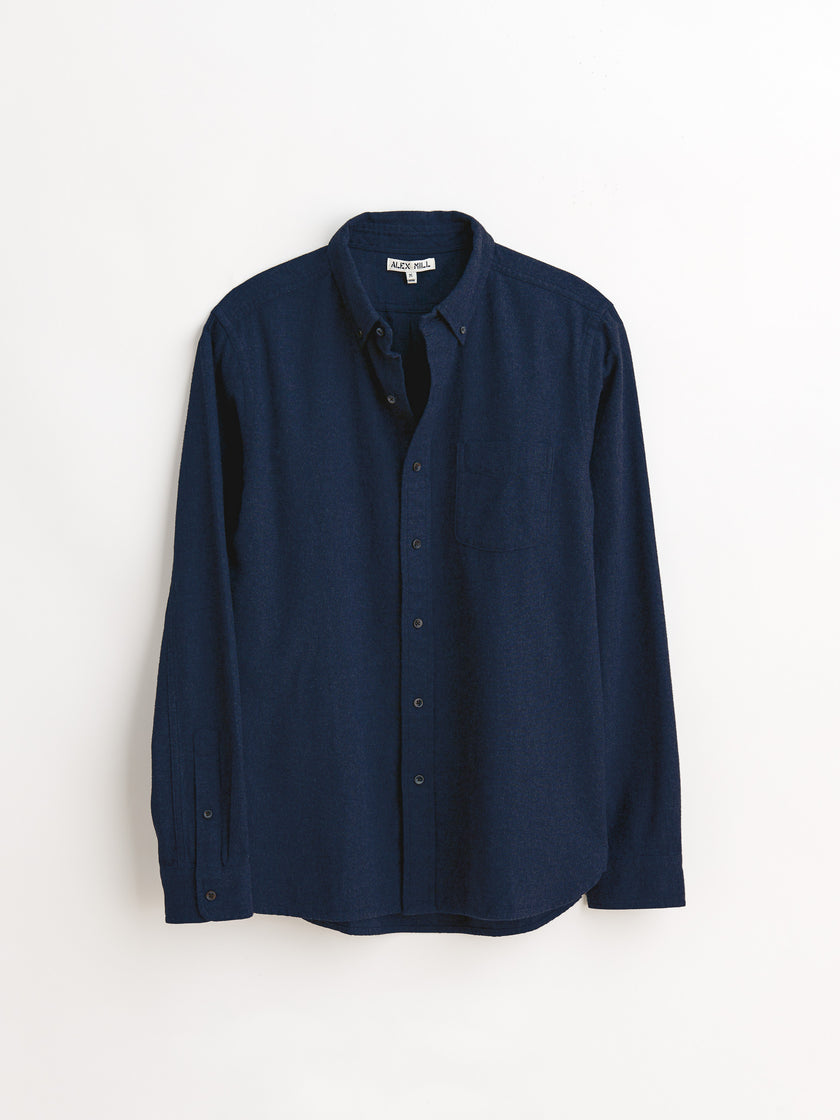 Brushed Twill Button Down