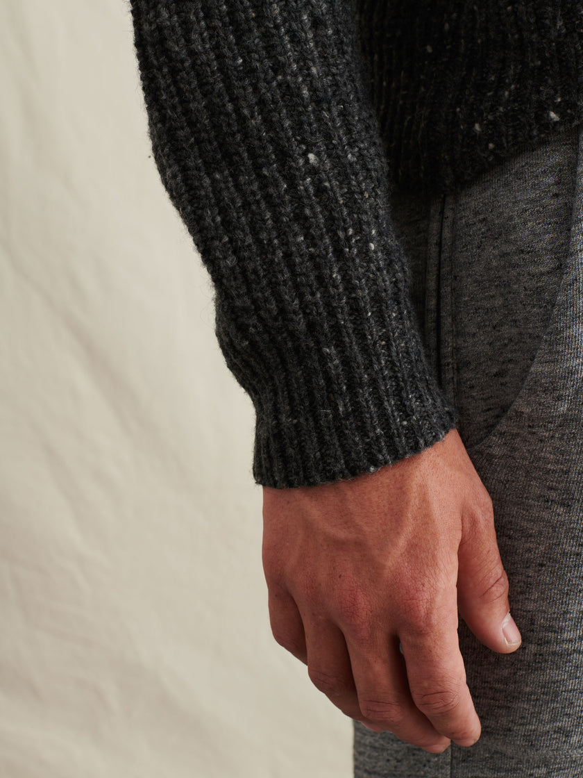 Donegal Roll Neck Sweater