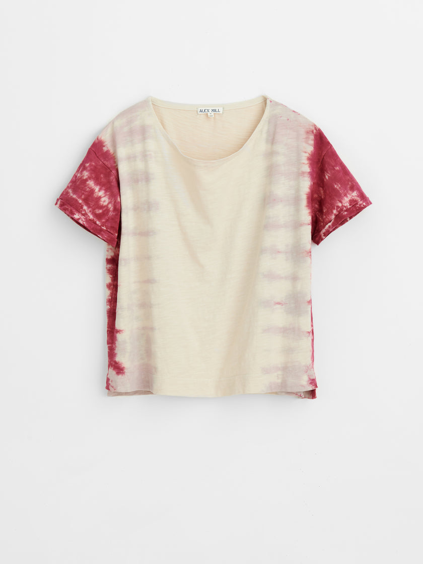 The Hand Dyed Project: Tie Dye Boatneck T-Shirt