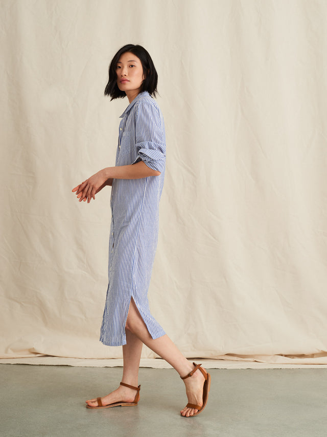 Standard Maxi Shirtdress in Portuguese Cotton