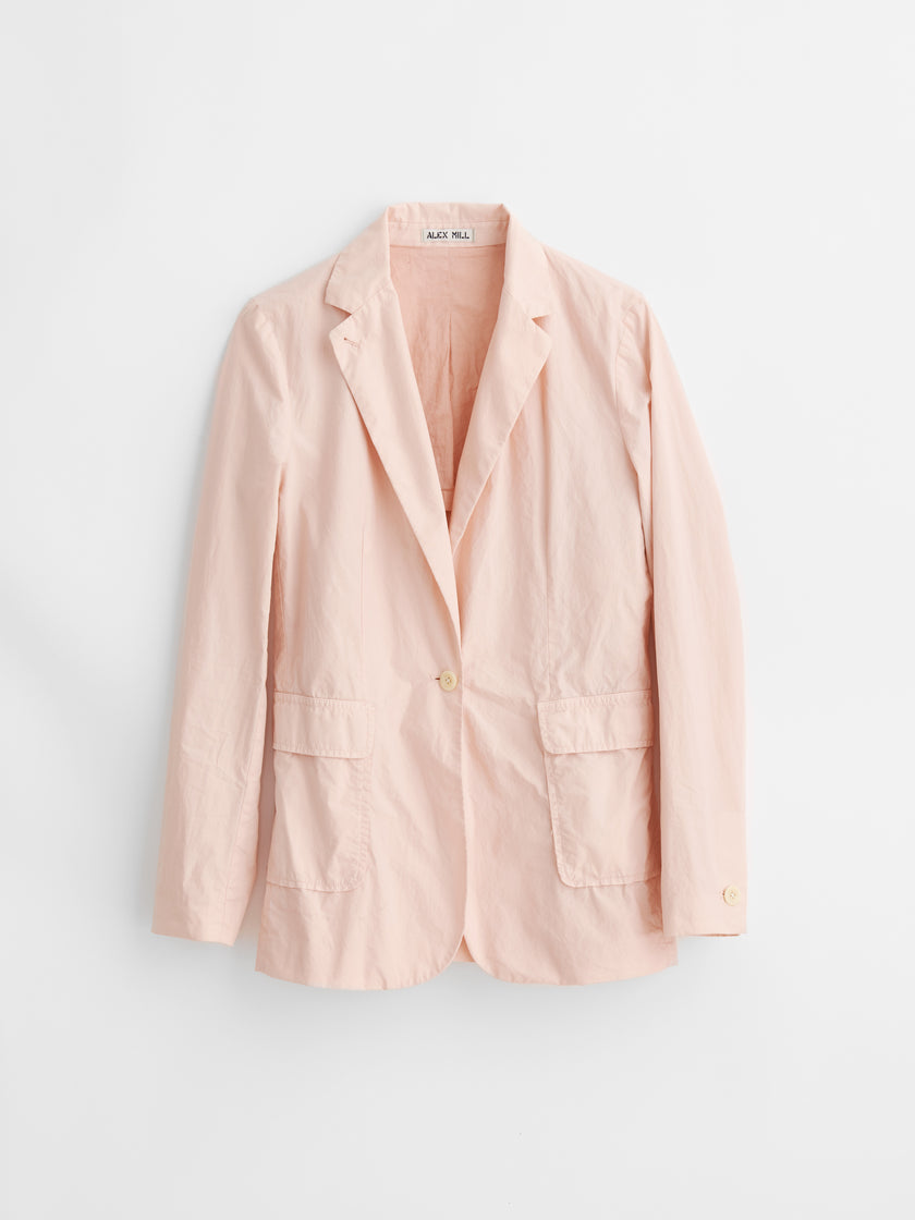 Billie Blazer in Paper Cotton