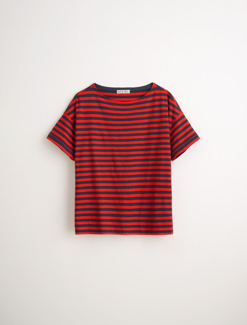 Standard Boatneck T-Shirt in Slub Cotton