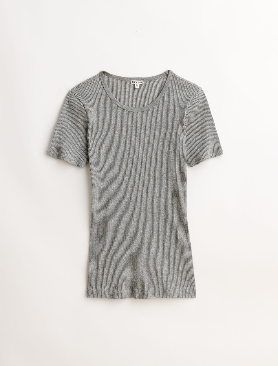 Shrunken Heather Rib Tee