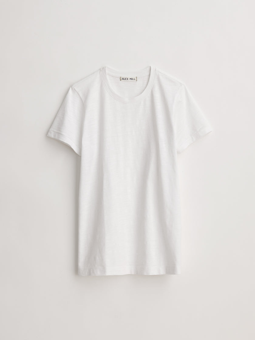 Standard Crewneck T-Shirt in Slub Cotton