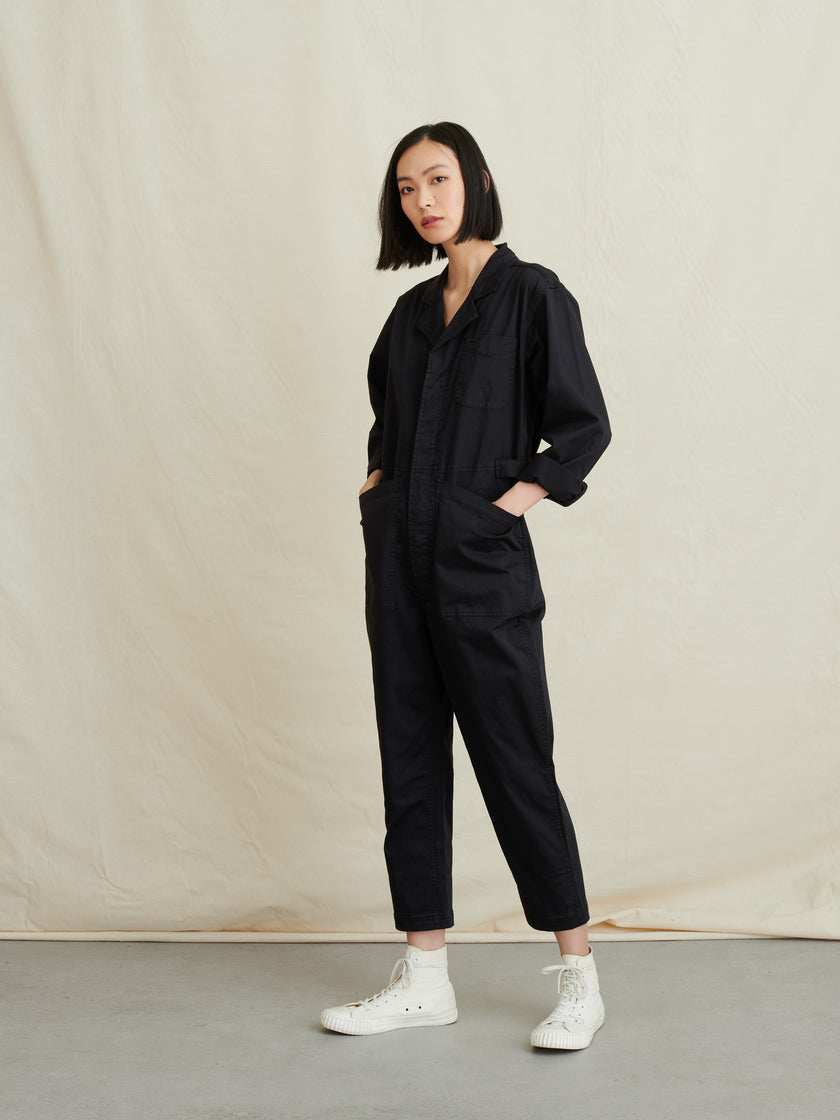 Standard Jumpsuit in Cotton Twill