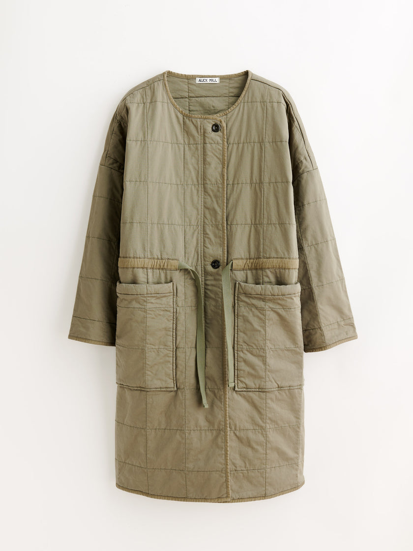 Christopher Quilted Coat
