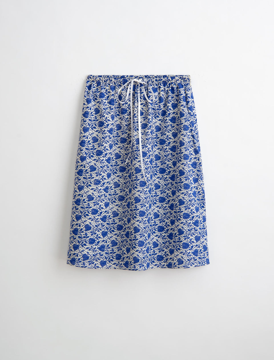 Slip Skirt in Ikat Heart