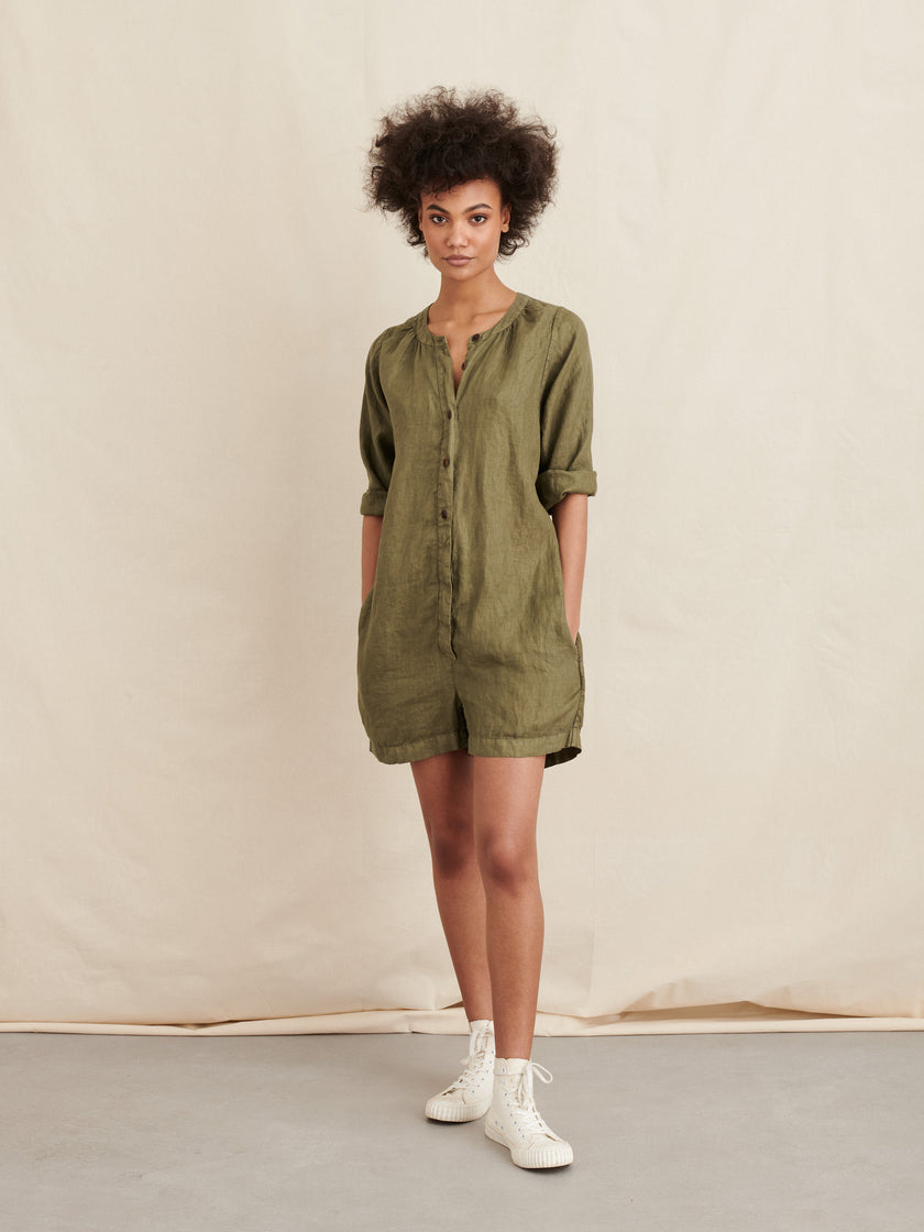 Playsuit in Linen
