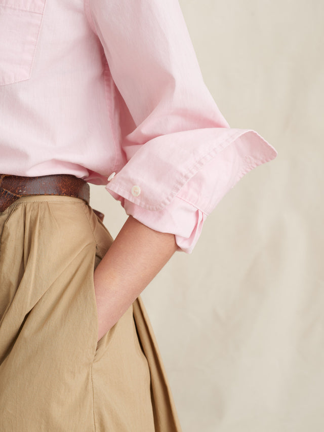 Standard Button-Down in Relaxed Japanese Cotton
