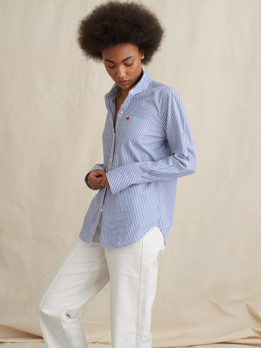 Standard Button-Down in Relaxed Portuguese Cotton