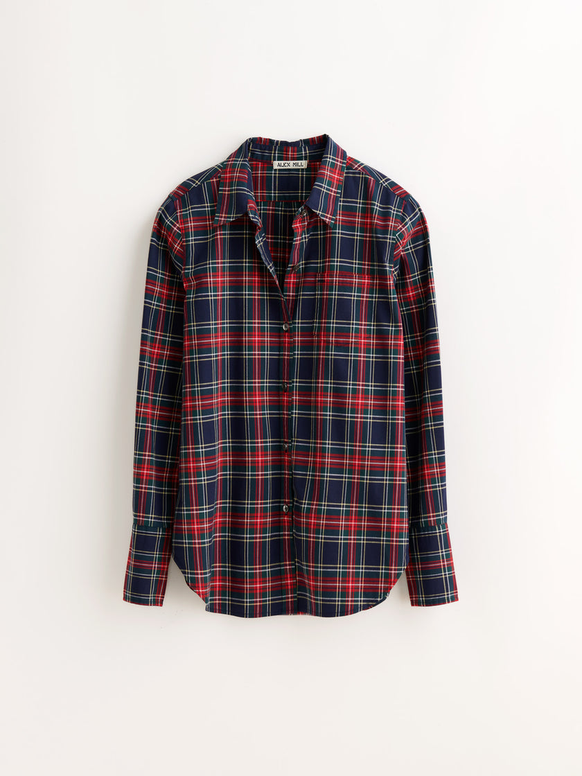 Standard Button-Down in Plaid