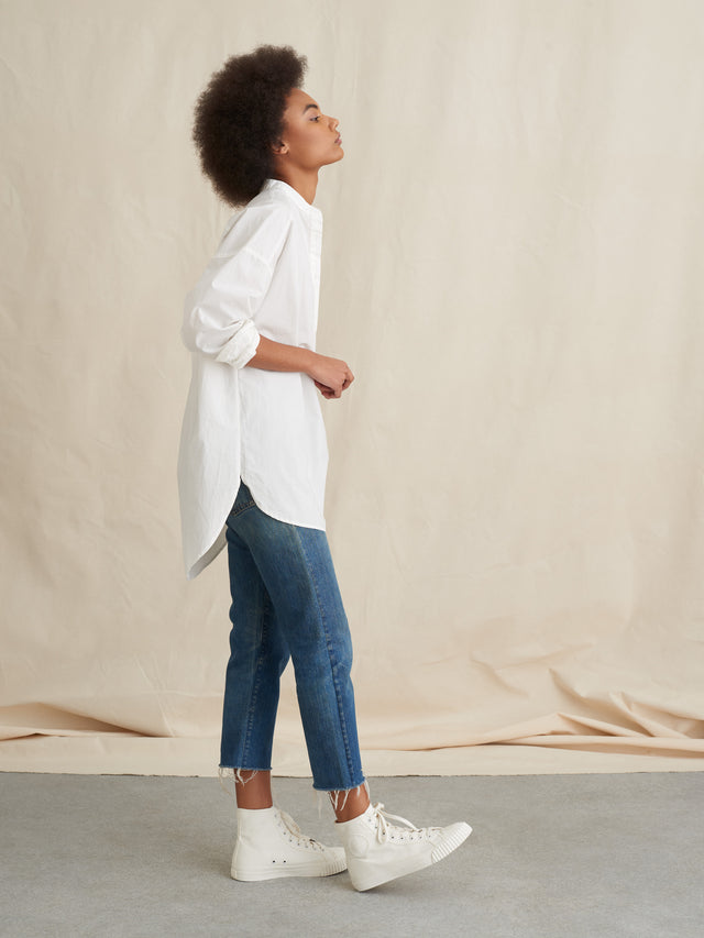 Popover Tunic in Shore Cotton