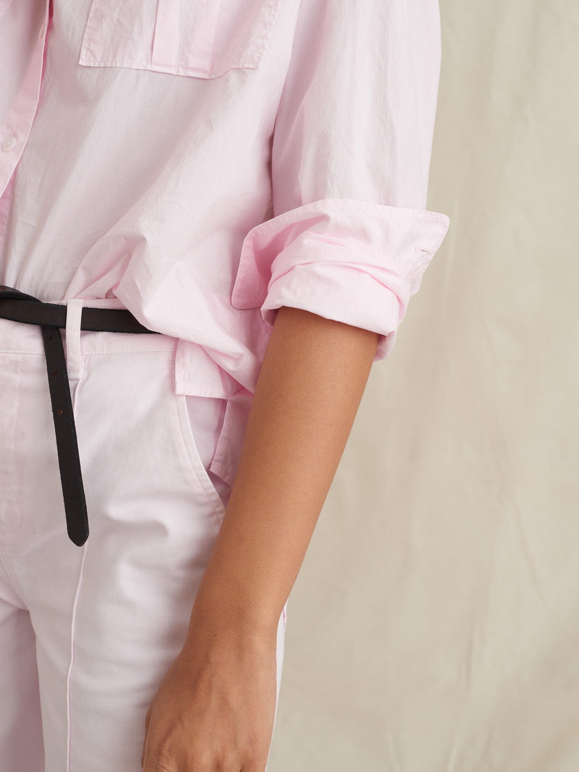Keeper Button-Down in Paper Cotton