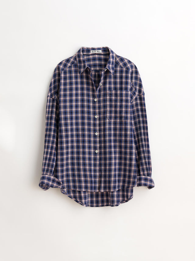 Keeper Button-Down in Textured Plaid
