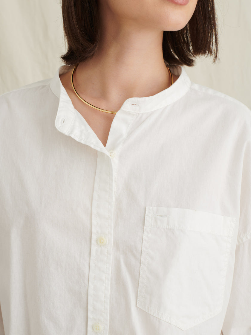 Keeper Button-Down with Removable Collar