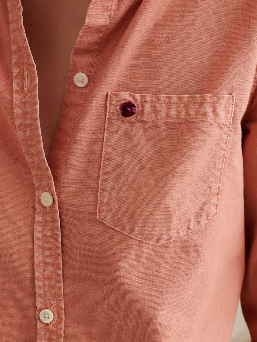 Standard Button-Down in Garment-Dyed Oxford Cotton