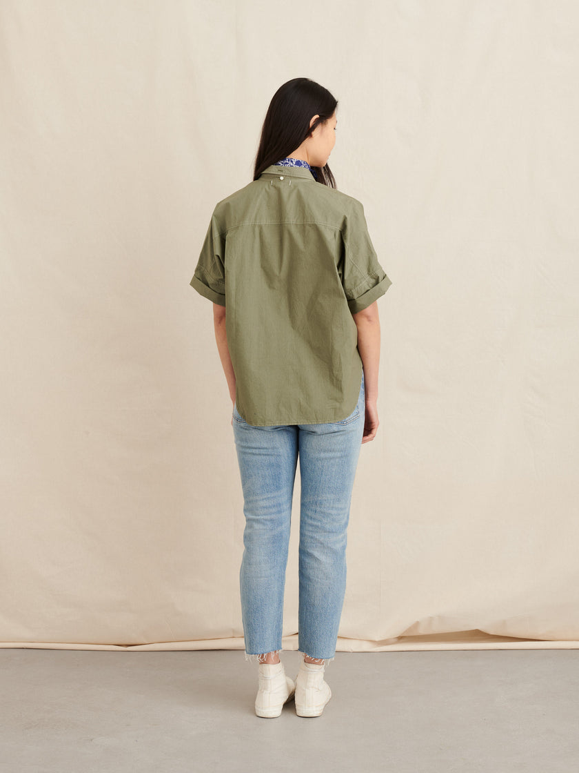 Charlie Shirt in Paper Cotton