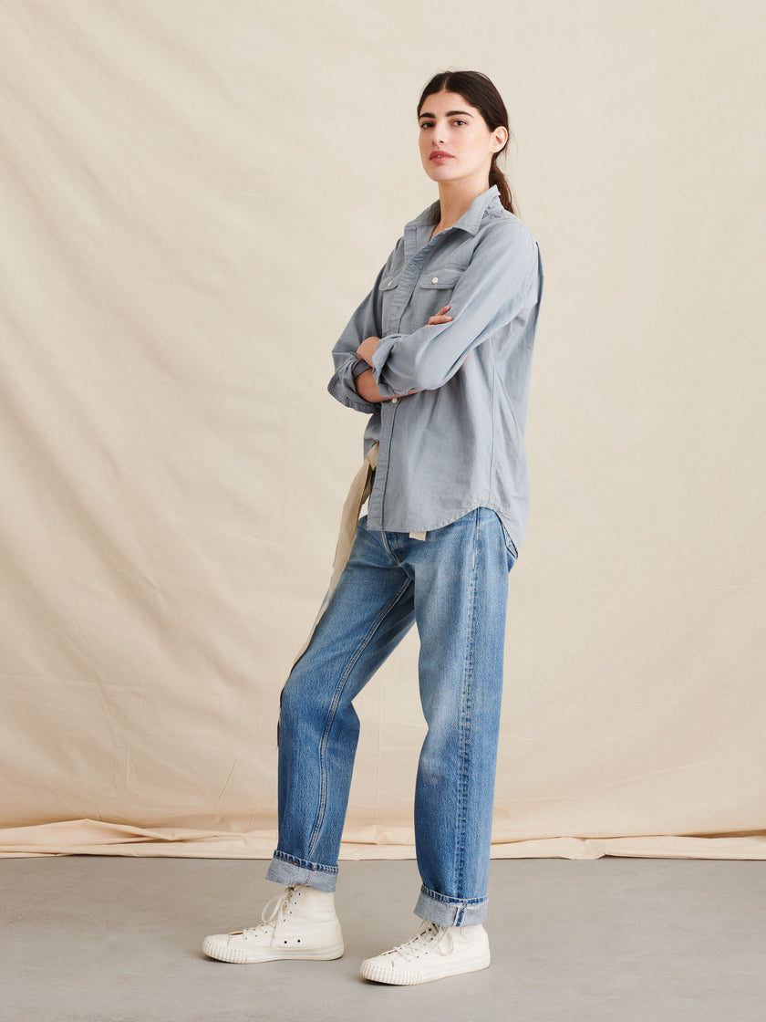 Chambray Double Pocket Shirt