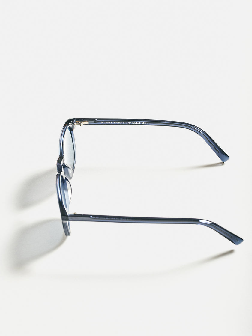 Warby Parker for Alex Mill: Downing Sunglasses in Breaker Blue