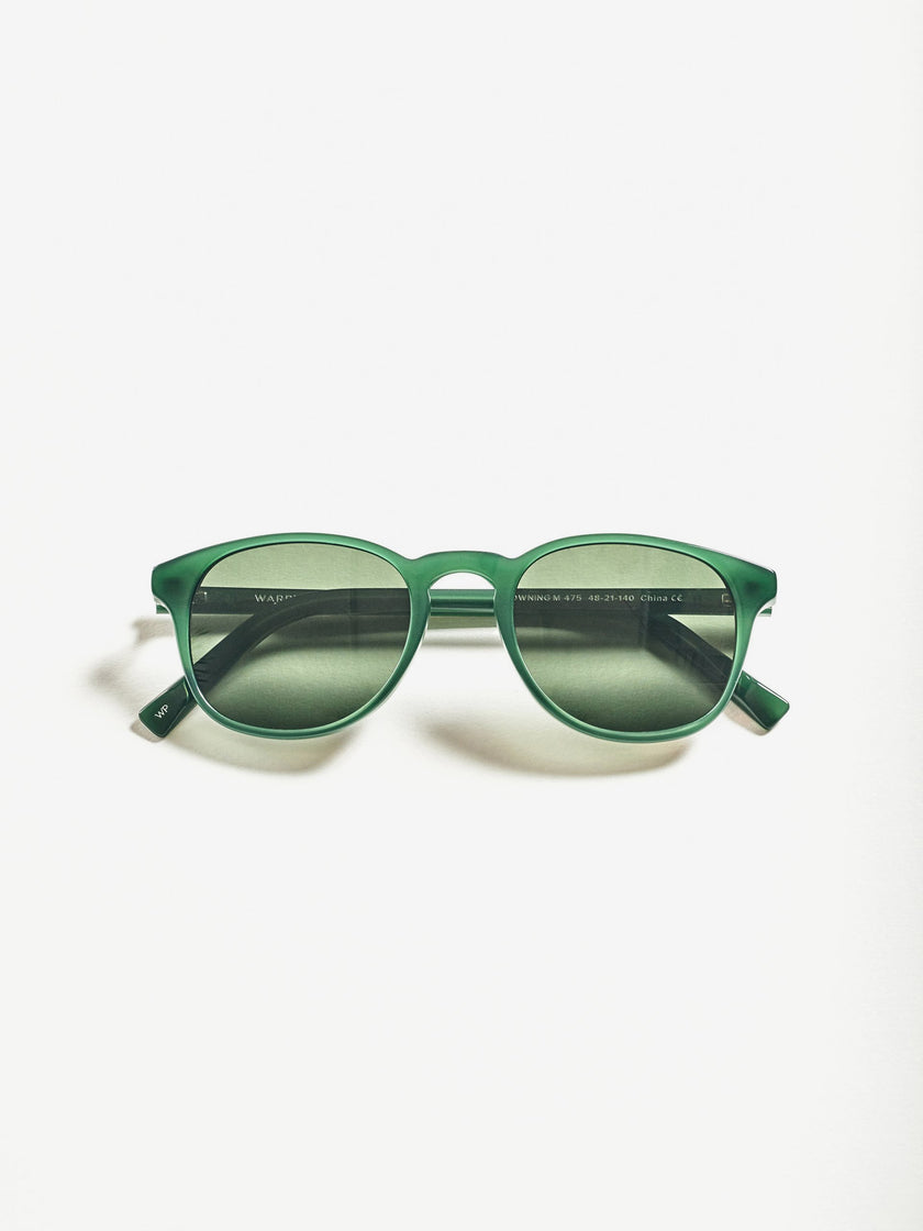 Warby Parker for Alex Mill: Downing Sunglasses in Poblano