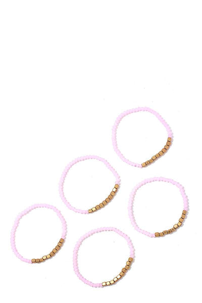 Stacking Beaded Bracelet Set - SerenityChic