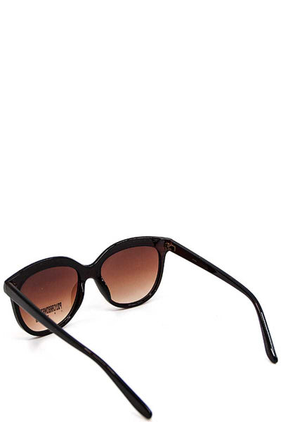 Sleek Embellished Sunglasses - SerenityChic