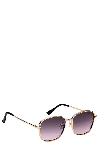 Retro Style Sunglasses - SerenityChic Purple