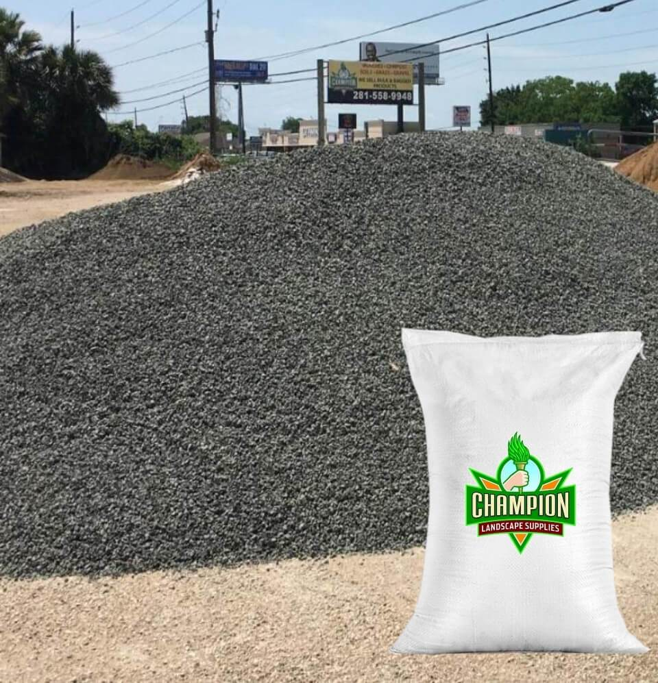 Blackstar Gravel Bag - Champion Landscape Supplies - BAGGED MATERIAL