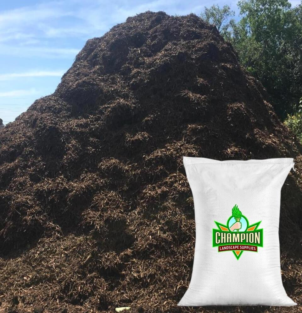 Cedar Mulch Bag - Champion Landscape Supplies - BAGGED MATERIAL