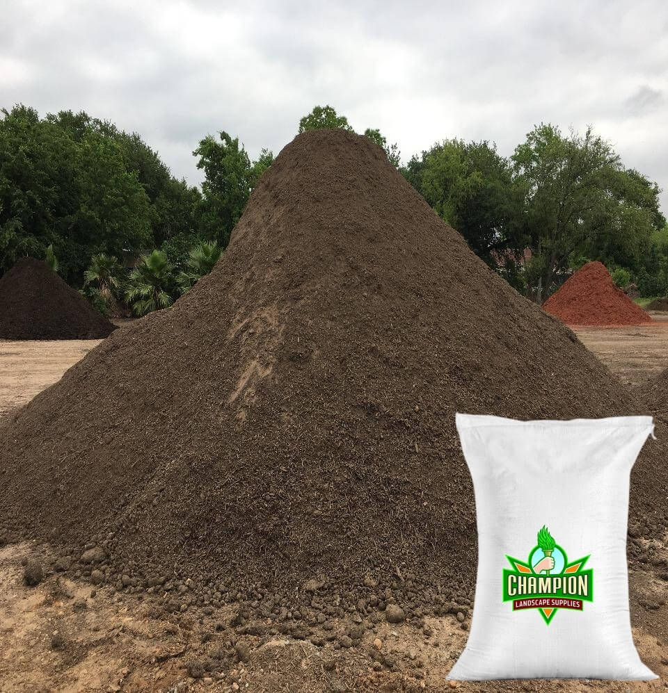 Lawn Mix Soil Bag - Champion Landscape Supplies - BAGGED MATERIAL