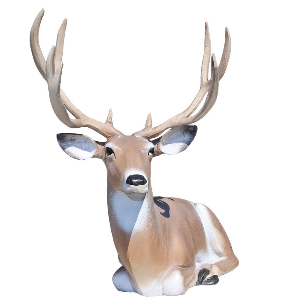 Lying  Large Buck - Champion Landscape Supplies - Scuptures