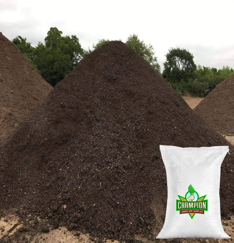 Premium Lawn Mix Bag - Champion Landscape Supplies - BAGGED MATERIAL