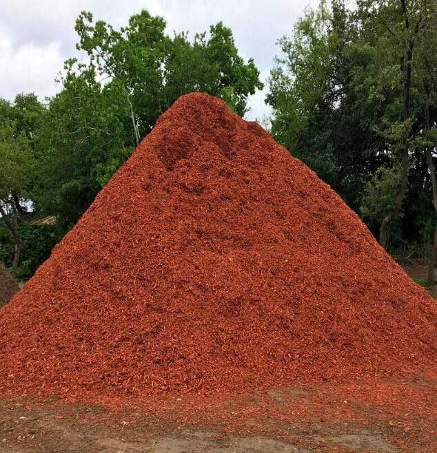 Red Mulch - Champion Landscape Supplies - mulch